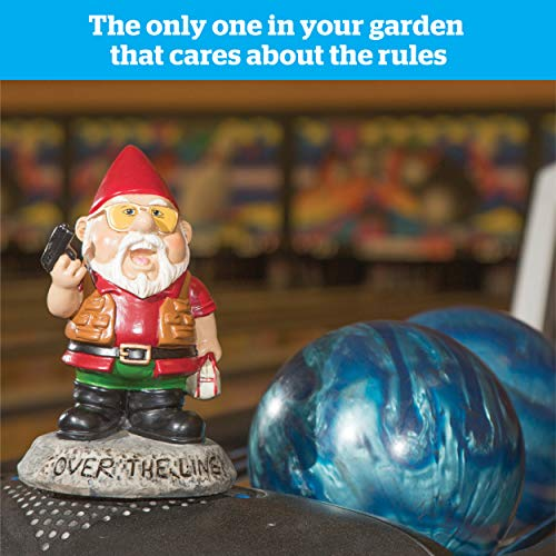 "Bigmouth INC ""Over the Line."" Garden Gnome Statuen - 2"