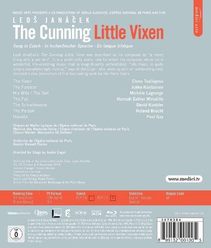 Le petite renarde rusee, de Leos Janácek (Opéra de Paris 2008) [Blu-ray]