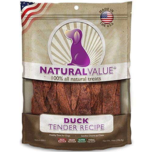 Natural Value natürlichen Wert Weich Kauen Ente Ausschreibungen, 397g -