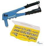 Dapetz Hand Setzhammer Pistole 650 Aluminium/Stahl Toter Blindnieten 2.4 3.2 4.0 4.8mm