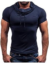 T-shirt, Sport baseball maglietta istruttore palestra basket fitness maglia,Yanhoo® Camicia estate uomo casual shirt Solid manica corta