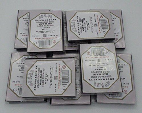 docsmagic.de 500 Mat Black Card Sleeves Standard Size 66 x 91 - Schwarz - 10 Packs - Pokemon - Magic