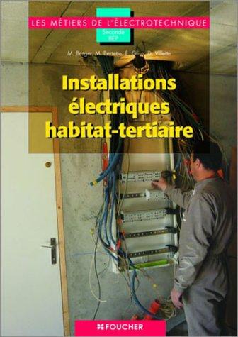 Les métiers de l'électronique : Installations électriques habitat-tertiaires