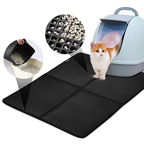 Características:La caja de litera se coloca en la estera de la litera del gato, impermeable, plegable, previene la basura y las omisiones.Especificaciones:➣Material: EVA➣Color: Negro➣Tamaño del producto: 80 * 65cm➣Tamaño plegado: 40 * 32 cm➣Peso del ...