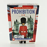 Prohibition Ginebra Alto Alcohol Licor Kit de hace 4,5 L 21% ABV