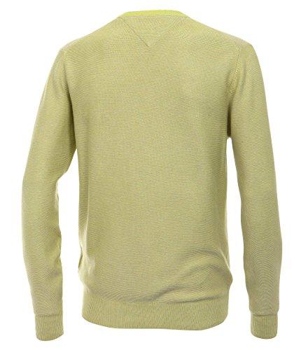 Casa Moda - Herren Pullover mit V-Ausschnitt (452109900 A) Limone (342)
