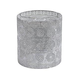 Arundel Antique Silver Pendant Light