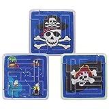 12x Geduldspiele Piraten Kugelgeduldspiel Reisespiel Piratenparty Mitgebsel