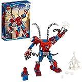 LEGO Super Heroes Il Mech di Spider-Man Set di Costruzioni per Bambini, con la Minifigure di SpiderMan e Ragnatela Acciuffa-Furfanti, +6 Anni, 76146