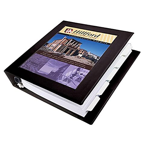Framed View Binder With One Touch Locking EZD Rings, 1-1/2