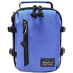 Rangeland Mini sacoche à bandoulière pour iPhone XS/XS Max/XR/X/8/8 Plus/7/7 Plus, Bleu (blueberry), Small
