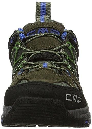 CMP Unisex-Kinder Rigel Trekking-& Wanderhalbschuhe Grün (avocado)