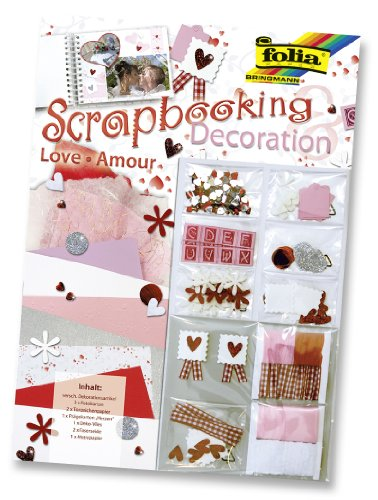 Folia 12101 - Scrapbooking Deco-Set, Love