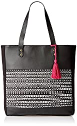 Kanvas Katha Womens Handbag (Black) (KKVTA005)