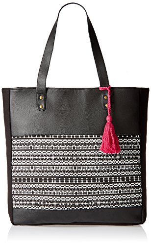 Kanvas Katha Women\'s Handbag (Black) (KKVTA005)