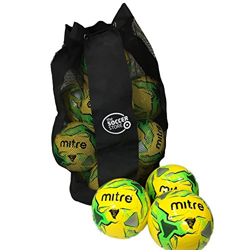 multibuy-pack-of-10-mitre-impel-footballs-10-mitre-impel-training-balls-and-ball-carry-bag-yellow-gr