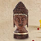 #10: Gift Shop Antique Handcrafted Lord Buddha in Carved Wood -192