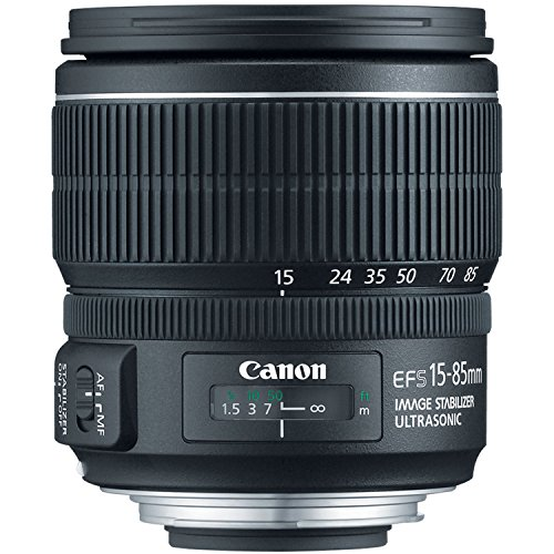 Canon EF-S 15-85mm f/3.5-5.6 IS USM Negro