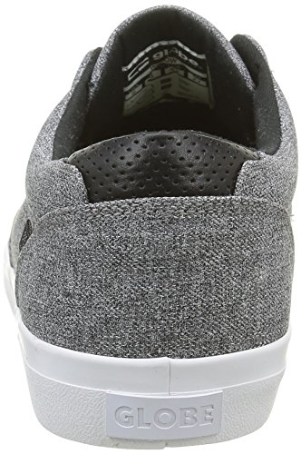 Globe Herren Willow Skateboardschuhe Grau (black chambray/white)