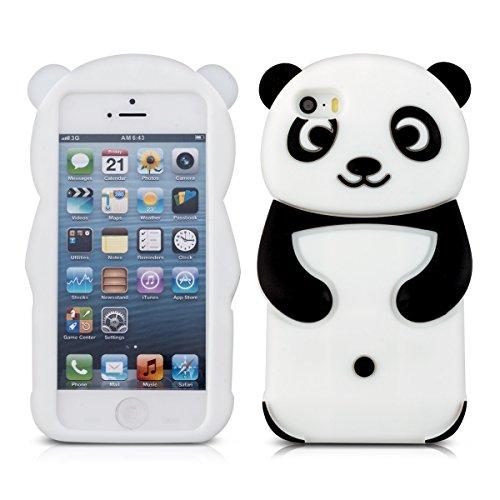 kwmobile-silikon-hlle-case-fr-apple-iphone-se-5-5s-mit-panda-design-handy-cover-schutzhlle-in-schwar