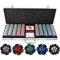 13.5g 500PC Pro Poker Sandplatz Poker Set