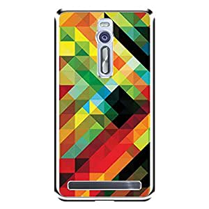"""MOBO MONKEY Designer Printed 2D Transparent Hard Back Case Cover for """"Asus Zenfone 2 ZE551ML"""" - Premium Quality Ultra Slim & Tough Protective Mobile Phone Case & Cover"""