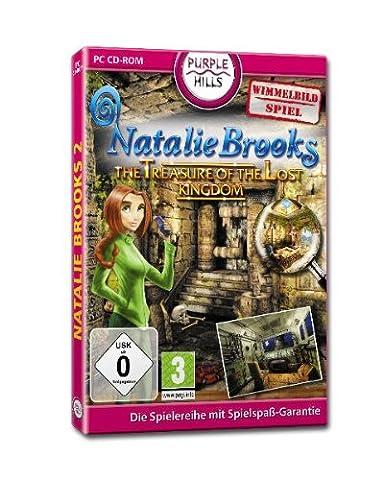 Natalie Brooks, The Treasure of the Lost Kingdom, CD-ROM Wimmelbild-Spiel. Für Windows [import allemand]