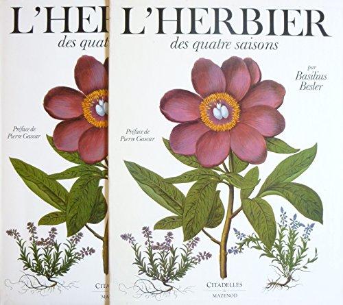 L'herbier des quatre saisons ou Le jardin d'Eichsttt. Prface de Pierre Gascar. Textes de Grard G. Aymonin