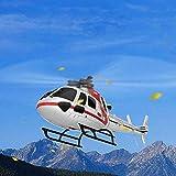 zezego Drone-Weili XK K123 Fernbedienung Drohne 6 Pass Helikopter RC Flugzeug elektrische Fernbedienung Spielzeug weiß