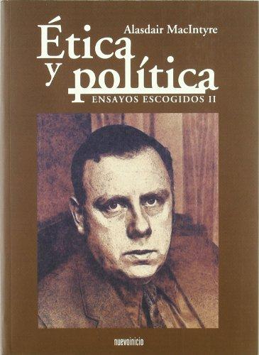 Portada del libro Ética y política