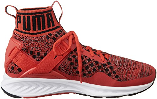 Puma Ignite Evoknit, Chaussures de Running Compétition Mixte Adulte Rouge (High Risk Red-quiet Shade-puma Black 02)
