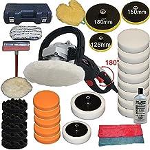 TecTake Lucidatrice professionale lucidatore levigatrice auto 0-3000 1500 watt +