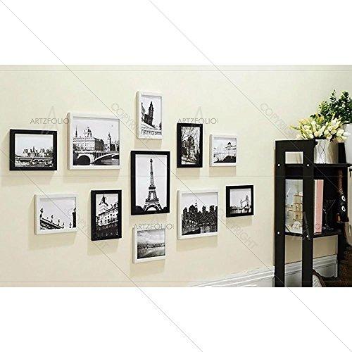 ArtzFolio Wall Photo Frame Multicolor 4x6-8pc;6x6-2pc;6x8-1pc;Set of 11 PCS
