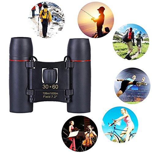 Tragbares Mini Fernglas 30x 60Zoom Outdoor Travel faltbare Teleskop mit Tasche