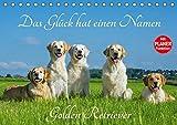Das Glück hat einen Namen - Golden Retriever (Tischkalender 2018 DIN A5 quer): Eine der wohl schönsten und beliebtesten Hunderassen auf 13 ... 14 ... [Kalender] [Apr 01, 2017] Starick, Sigrid