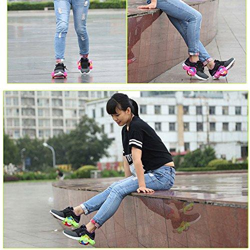U.Buy, Scarpe da Skateboard bambini Black