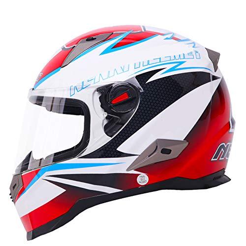 Moto casco integrale casco, uomini e donne, l'estate, casco da motociclista, quattro stagioni universale, la personalità, fresco-M-samu