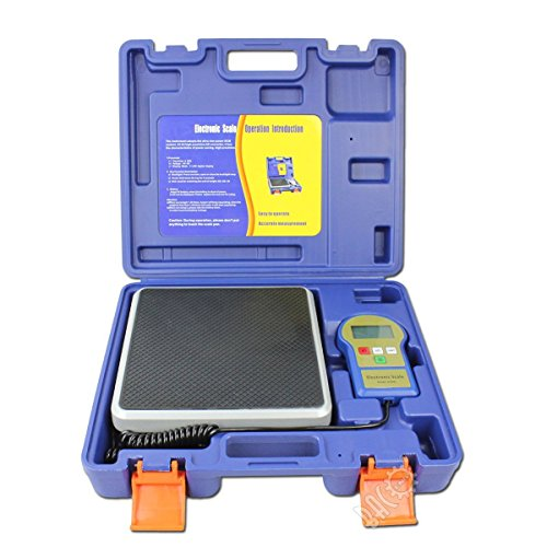BACOENG Bilancia Elettronica refrigerante con Retroilluminazione e Display LCD 100 KG