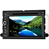 SAVORI Wince 8 Zoll Capacitive Touchscreen FORD 500 FORD F150 FORD Explorer FORD Edge/Expedition/Mustang/fusion FORD Freestyle 2 din In Dash Autoradio Moniceiver DVD GPS Navigation Freisprechfunktion Support Bluetooth WIFI Software USB
