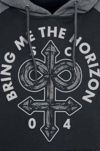 Bring Me The Horizon Infinite Unholy Kapuzenpulli schwarz/grau Schwarz/Grau