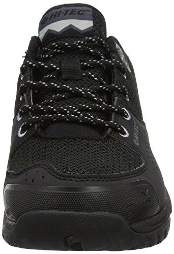Hi-Tec V-Lite Wild-Life Low I Waterproof, Chaussures de Randonnée Basses Homme Noir (Black/cool Grey)