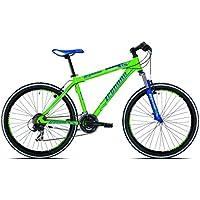 Legnano Ciclo 640Val di Fassa, Mountain Bike Unisex Adulto, Unisex Adulto, Ciclo 640 Val di Fassa, Verde/BLU