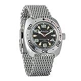 Vostok Amphibian - Reloj de pulsera automático para hombre, con correa de cuerda, estilo militar, anfibia, reloj de pulsera #710334