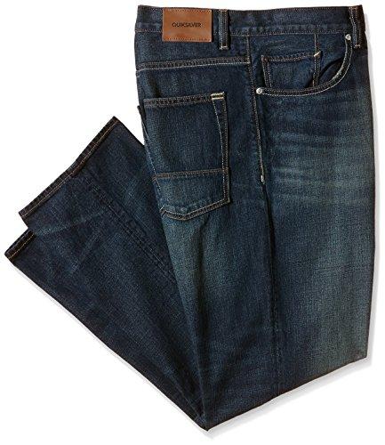Quiksilver Sequel-Pantaloni da uomo, Uomo, Sequel, Brown - Vintage Brown, FR: S (Taglia produttore: 36)