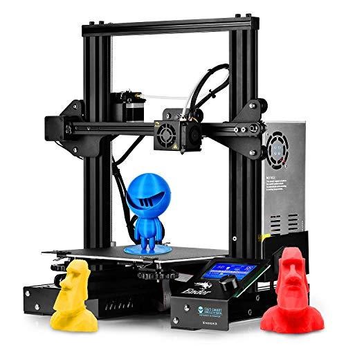 """SainSmart - Stampante 3D Creality Ender-3 per uso domestico e scolastico, 8,7 x 8,7 x 9,8"""""""