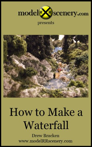 modelRRscenery.com - How To Make A Waterfall (English Edition) (Modell Train Lionel)