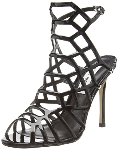 Steve Madden Footwear Slithur Sandal - Scarpe con Tacco, da Donna, Colore Nero (Black), Taglia 38 EU (5 UK)