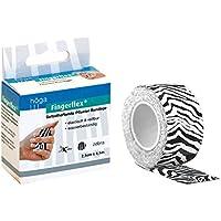 Fingerflex Zebra, 2,5 cm x 4,5 m gedehnt, selbsthaftende Pflaster Bandage / Fingerverband, 1er Pack (1 x 15 g) preisvergleich bei billige-tabletten.eu