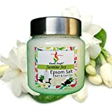 Aromakrafts Epsom Bath & Foot Spa Salt enriched with Jasmine Joy Aroma - 250g