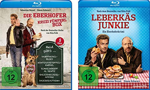 Eberhofer - 6 Filme Set ( Kruzifünferlbox + Leberkäsjunkie) im Set - Deutsche Originalware [6 Blu-rays]